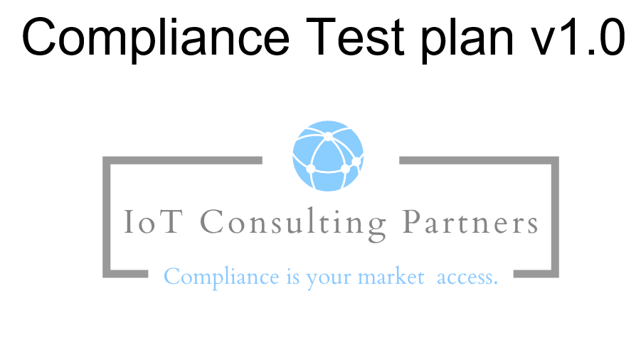 IoT Consulting Partners 2014/53/EU test plan